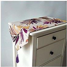 Dreamdge Purple Table Runners 32x210cm, Cotton