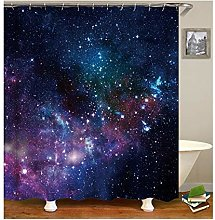Dreamdge Shower Curtain Galaxy, Mould Proof