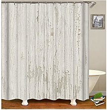 Dreamdge Shower Curtain White, Mould Proof