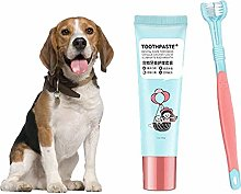 Dreameryoly 2 in 1Pet Toothbrush Toothpaste Set
