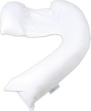 Dreamgenii Pregnancy Pillow - White