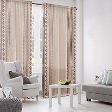 Dreaming Casa Linen Curtains, Boho Curtains for