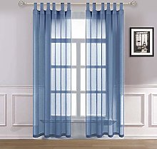 Dreaming Casa Sheer Voile Woven Transparent Tab