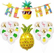 DreamJing 26 Pcs Aloha Hawaiian Party Decorations