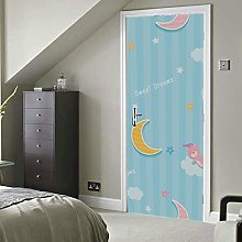 Dreamlike Lovely Beautiful Painting Self-Adhesive