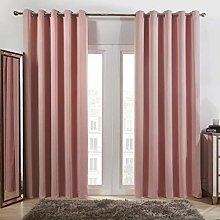 Dreamscene, Door Curtain, Panel, Blush Pink,