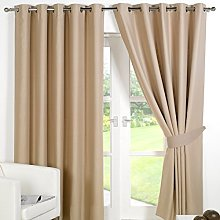 Dreamscene Eyelet Blackout Curtains Set of 2