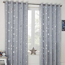 Dreamscene Galaxy Thermal Blackout Curtains for
