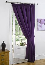 Dreamscene Thermal Pencil Pleat Blackout 1 Door