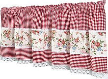 Dreamskull Net curtain, bistro curtain, country