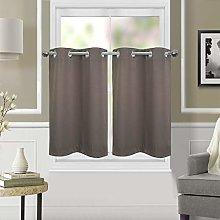 Dreamskull Short curtain curtains, short opaque