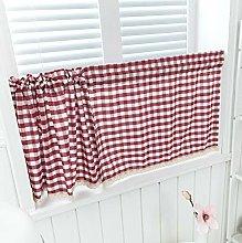 Dreamskull Short curtain kitchen short window