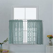 Dreamskull short curtains country style lace