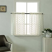 Dreamskull short curtains small window country