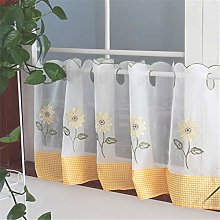 Dreamskull Voile Bistro Curtain Country House