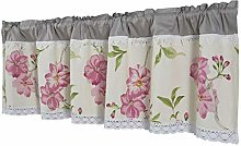 Dreamskull Window curtain, bistro curtain, country