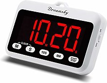 Dreamsky Digital Kitchen Timer with Loud Alarm,