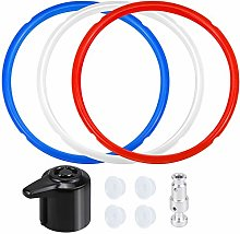 Dreamtop 3 Pack Silicone Sealing Ring Steam