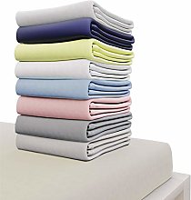Dreamzie Jersey Cotton Fitted Sheets 135x190 cm,