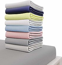 Dreamzie Jersey Cotton Fitted Sheets 150x190 cm,
