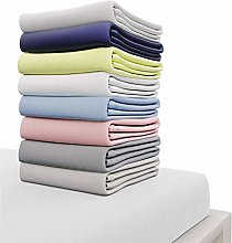 Dreamzie Jersey Cotton Fitted Sheets 180x200 cm,