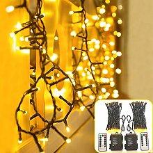 DreiWasser Christmas Fairy Lights, 2 Pack 5M 50