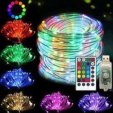 DreiWasser Fairy Rope Lights, 10M 100LEDs USB