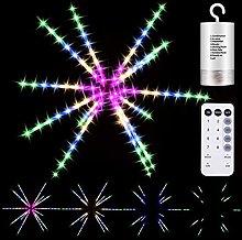 DreiWasser Firework Lights, 112 LEDs 14 Roots