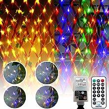 DreiWasser LED Net Lights, 1.5m x 1.5m 100 LEDs