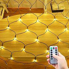 DreiWasser Net Fairy Lights 1.5MX1.5M 100 LEDs Net