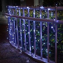 DreiWasser Solar Curtain Lights 4M X 1M 200 LEDs