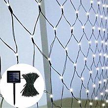 DreiWasser Solar Net Fairy Lights, 1.5Mx1.5M 100