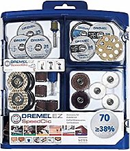 Dremel 725 EZ SpeedClic Accessory Set - 70 Rotary