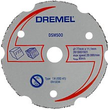 Dremel DSM500 Cutting Wheel for DSM20 Compact Saw,