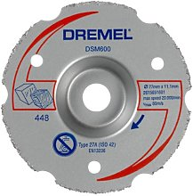 Dremel DSM600 Cutting Wheel for DSM20 Compact Saw,