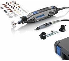 Dremel F0134300JB 4300-3/45 EZ Wrap Multi Tool + 3