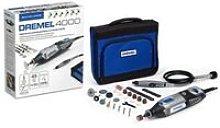 DREMEL Multi Power Tool 4000-45 Drill Flexi Shaft