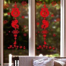 Dress Up Sticker Creative Union Glass Sticker