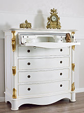 Dresser Cannocchiale Decape Baroque style chest of