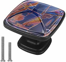 Dresser Crystal Knobs - Glass Crystal Drawer Knobs