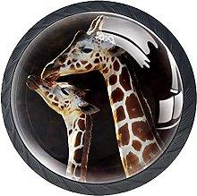Dresser Drawer Handles Baby Giraffes Bar Knobs
