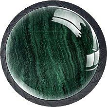 Dresser Drawer Handles Dark Green Bar Knobs Round
