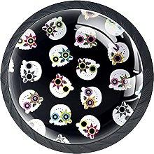 Dresser Drawer Handles Fancy Skulls Bar Knobs
