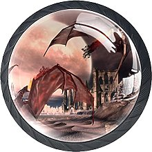 Dresser Drawer Handles Fantasy Dragons Bar Knobs