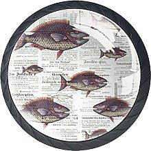 Dresser Drawer Handles Fish Bar Knobs Round