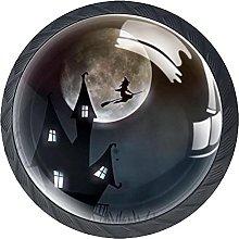 Dresser Drawer Handles Halloween Witch Bar Knobs