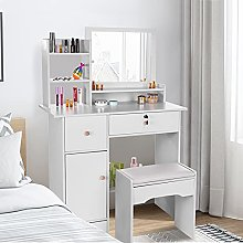 Dressing Table Bedroom Vanity Set Makeup Desk