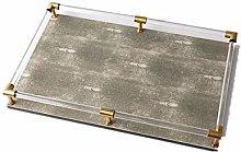 Dressing Table Tray Rectangular Plexiglass Tray