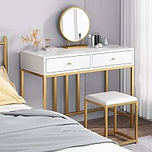 Dressing Table with LED Lights Mirror, Bedroom