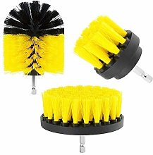 Dricar Drill Brush, 3Pcs Drill Attachment Brushes,
